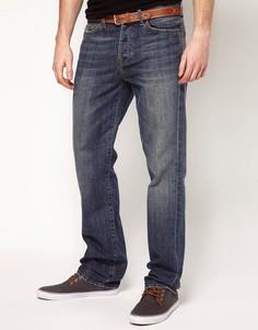 Классические джинсы прямого кроя 7 For All Mankind - Синий