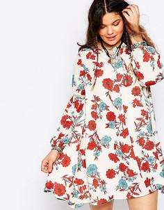 Свободное платье с принтом Alice & You - Мульти