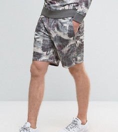 Трикотажные шорты с цветочным принтом Brooklyn Supply Co - Серый