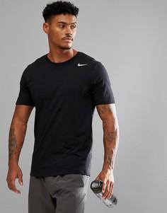 Черная футболка Nike Training Dri-FIT 2.0 706625-010 - Черный