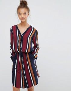 Платье с поясом B.Young - Мульти