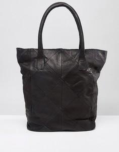 Кожаная сумка Ichi - Черный