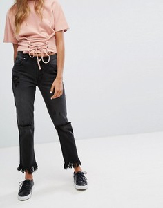 Рваные джинсы Minkpink Rough Night - Черный