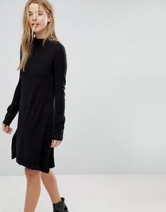 Свободное платье-джемпер Brave Soul - Черный