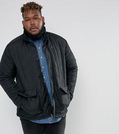 Черная стеганая куртка Duke PLUS - Черный