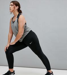 Черные леггинсы Nike Plus Running Power - Черный