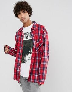Рубашка в клетку Dead Vintage James - Красный