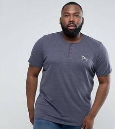 Меланжевая футболка Tokyo Laundry PLUS - Синий
