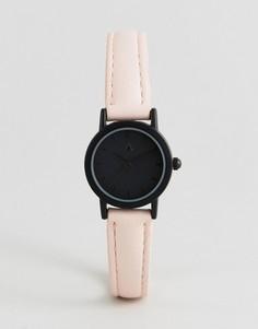 Часы с черным циферблатом и розовым ремешком ASOS CURVE - Мульти