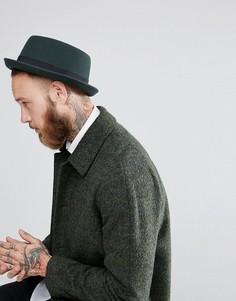 Зеленая шляпа ASOS - Зеленый