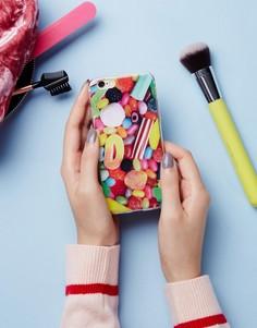 Чехол для iPhone 6 с принтом конфет Signature - Розовый