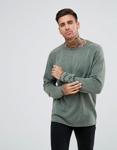 Джемпер с рукавами реглан Troy - Зеленый