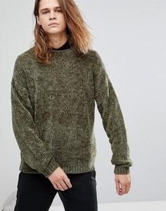 Плотный джемпер цвета хаки ASOS - Зеленый