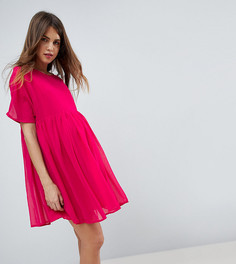 Свободное тканое платье ASOS Maternity PETITE - Красный