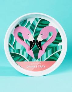 Поднос с фламинго Sunnylife - Мульти