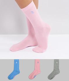 Набор из 3 пар носков пастельных цветов Penguin - Мульти
