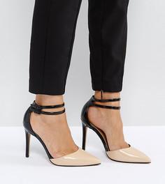 Остроносые туфли на каблуке ASOS PRIMROSE - Мульти
