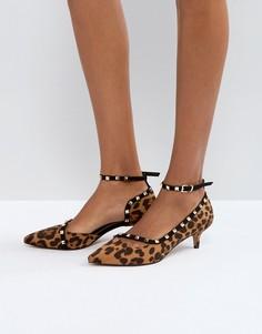 Туфли с заклепками ASOS SABRE - Мульти