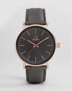 Темно-серые часы ASOS - Серый