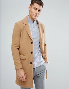 Пальто с добавлением шерсти Process Black - Рыжий