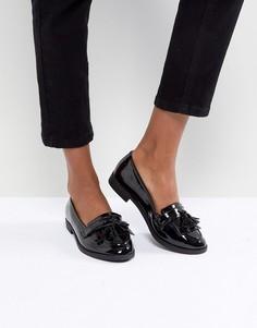 Туфли на плоской подошве ASOS MINKIE - Черный
