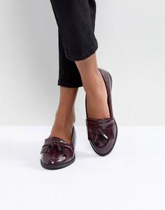 Туфли на плоской подошве ASOS MINKIE - Красный