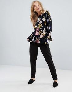 Широкие брюки Vila - Черный