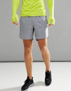 Серые шорты Adidas Running TKO CD9265 - Серый