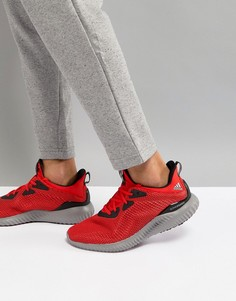 Красные кроссовки Adidas Running Alphabounce BW1220 - Красный