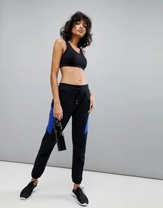 Черно-синие спортивные брюки South Beach - Мульти