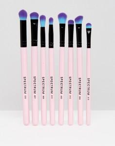 Набор из 8 кистей для макияжа Spectrum - Бесцветный