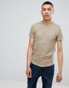 Oversize-футболка Bellfield - Бежевый