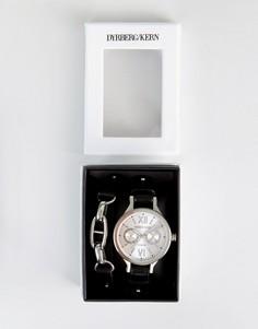 Подарочный набор с часами и браслетом DyrbergKern - Черный