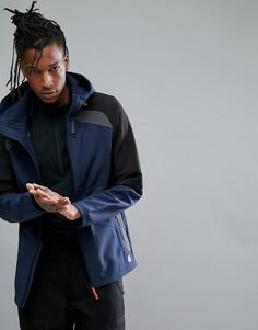 Синяя куртка ONeill Activewear Exile Softshell - Темно-синий O`Neill