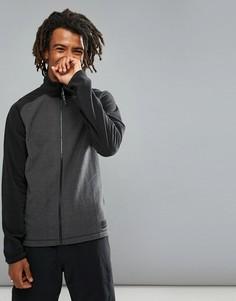 Серо-черная флисовая куртка на молнии с рукавами реглан ONeill Ventilator - Серый O`Neill
