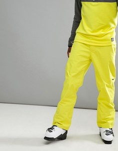 Неоново-желтые горнолыжные брюки ONeill Hammer - Желтый O`Neill