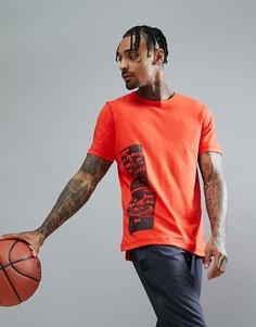 Красная футболка adidas Basketball Harden CE7304 - Красный