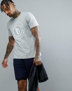 Серая футболка adidas Basketball Dame CE7336 - Серый