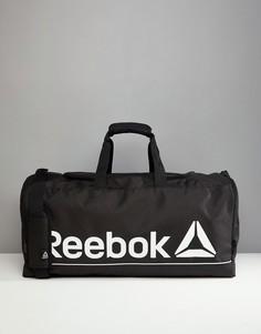 Черная спортивная сумка Reebok - Черный