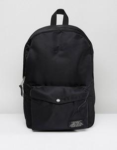 Черный нейлоновый рюкзак Schott - Черный