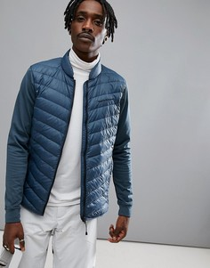 Синяя куртка Peak Performance Frost Hybrid - Синий