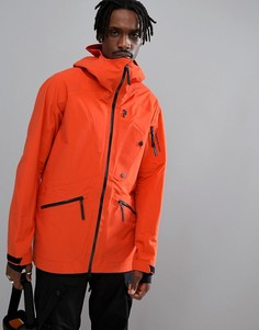 Оранжевая легкая лыжная куртка Peak Performance Bec J - Оранжевый