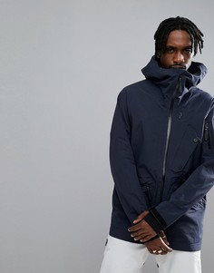 Темно-синяя легкая лыжная куртка Peak Performance Bec J - Темно-синий