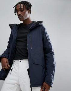 Темно-синяя лыжная куртка Peak Performance Hakuba J - Темно-синий