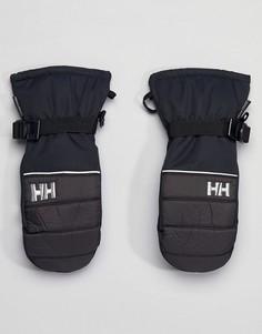 Черные горнолыжные варежки Helly Hansen - Черный