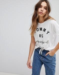 Футболка с логотипом Tommy Jeans 85 NYC - Белый
