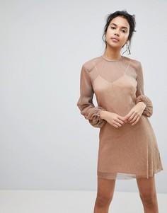 Платье Keepsake Step Down - Медный