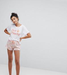 Пижама с шортами Hey Peachy - Розовый