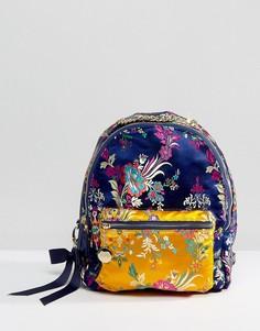 Рюкзак с вышивкой Faith - Темно-синий