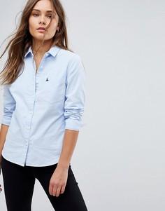 Классическая оксфордская рубашка Jack Wills - Синий
